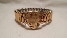 Original D. F. B. CO CARMEN Girls Expansion Bracelet, Gold-Filled