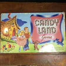 "Candy Land Game - Vtg Style Hasbro Metal Wall Sign Plaque 18"" X 11"""