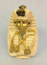 Small Egypt Stone Effect Tutankhamun Bust Egyptian Collectable Ornament R39373/F