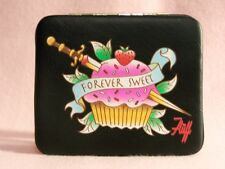 Forever Sweet Wallet fluff black Cupcake tattoo knife punk