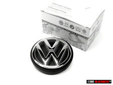 Jetta MK2 Genuine VW Rear Boot Trunk Badge Emblem Chrome 1989-1992
