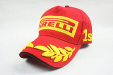 Men red Pirelli hat cap moto gp motorcycle F1 baseball cap hat hiphop snapback