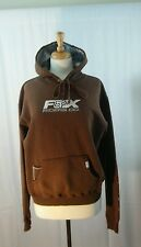 FOX Girls/Juniors Brown Hoodie Sweater Fox Riders Co. Sz XL