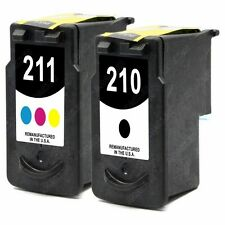 2 PACK Black/Color Ink Cartridge Set for Canon PIXMA MX330 MX340 MX350 Printer