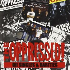 The Oppressed Oi! Singles & Rarities CD NEW SEALED Punk Skinhead