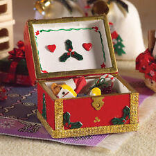 Chest of Christmas Treats, Dolls House Xmas, Miniatures, 1.12th Scale