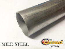 "250mm Section 10"" TUBE 63mm Mild Steel Exhaust Repair Aluminised Pipe 2.5 2 1/2"""