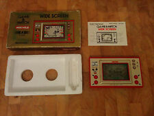 NINTENDO GAME AND WATCH 1981 ***MICKEY MOUSE!!*** RARE