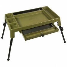 NEW ADvanta Discovery CX Fishing Ultimate Bivvy Table with Tray+ Adjustable Legs