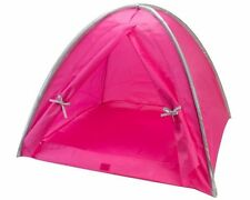Tent  Hot Pink - Silver Camping For 18 inch American Girl Dolls