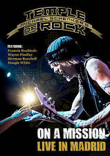 MICHAEL SCHENKER'S TEMPLE OF ROCK: ON A MISSION - LIVE IN (NEW DVD)