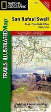 National Geographic Utah San Rafael Swell Trails Illustrated Map 712