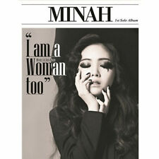 GIRL'S DAY MINAH-[I AM A WOMAN TOO]1st MiniAlbum CD+Photo Book+Card K-POP Sealed