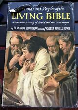 THE LANDS AND PEOPLES OF THE LIVING BIBLE ...1959 BOOK