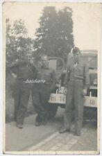 Foto Belgien-Liege deutsche Kriegsgefangene 1945/46   2.WK  (G205)