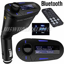Bluetooth Car Kit FM Transmitter Modulator LCD MP3 Radio Player USB SD MMC Remot