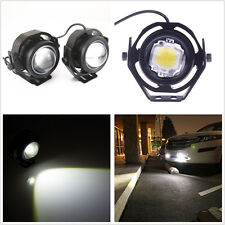 2Pcs Car 10W White CREE U2 High Power Eagle Eye LED Projector Fog Light DRL Lamp