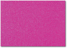 2 x A4 SHEETS OF 220GSM PREMIUM DOVECRAFT CERISE GLITTER CARD