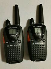 Pair Motorola Talkabout FR50 2-Way Handheld Radio Walkie Talkie 14 Channel