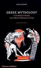 Greek Mythology: A Traveler's Guide by David Stuttard Hardcover Book (English)