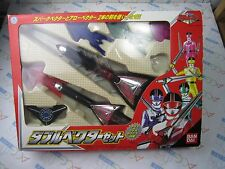 Power Rangers Timeranger Time Force Double Vector Weapon Set Bandai Japan USED