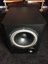 B&W BOWERS&WILKINS 800ASW SUBWOOFER IN BLACK ASH, GRILLE,ORIG BOX