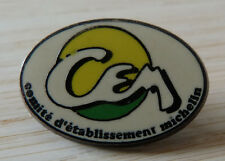 PIN'S MICHELIN CEM COMITE D'ETABLISSEMENT ZAMAC