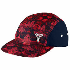NIKE Kobe AW84 Snapback Cap Adult One Size Obsidian Red White Running Cycle USA