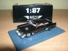 Neo Cadillac Series 62 Club Coupe Sedanette Coupe schwarz 1:87 Neu + OVP Lim H0