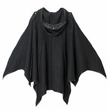 Punk Rave Unisex Gothic Goth Cape Jacket,Dark Fashion cosplay rock party coat