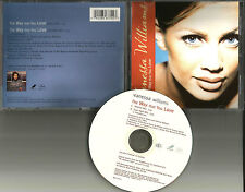 VANESSA WILLIAMS The Way That You love w/ RARE MIXES Limited USA CD single 1995