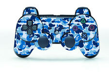 Army Jungle Cool Skin Sticker Cover Parts for PS3 Controller Playstation 3 Games