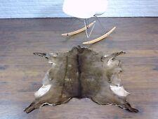 Belle véritable chèvre tapis rare unique, 120cm x 75cm, Go119