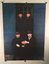 "1975 ""The Beatles Brick Wall"" Vintage Poster by Stuff & Co 26X35 Head Shop"