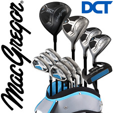 """NEW 2016"" MACGREGOR DCT PREMIUM DELUXE LADIES COMPLETE GOLF SET & CART BAG"