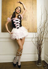 Sexy Adult Halloween Music Legs Women's Ballerina Princess Costume