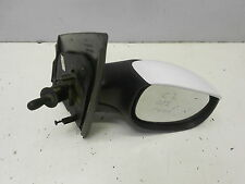 CITROEN C2 03-09 OFFSIDE/DRIVER MANUAL DOOR/WING MIRROR (BLACK/WHITE)      #1569