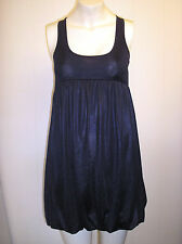 Gorgeous Navy Blue Puffball Hem Dress by French Connection - Approx Size 8