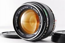 【B V.Good】 Olympus OM-SYSTEM G.Zuiko Auto-S 50mm f/1.4 Lens w/Caps JAPAN #2102