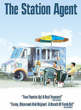 The Station Agent DVD, Peter Dinklage, Patricia Clarkson, Bobby Cannavale, Paul