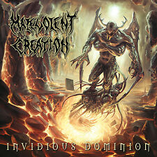 MALEVOLENT CREATION Invidious Dominion CD ( 200685 )