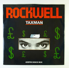 """12"""" Maxi - Rockwell - Taxman - B4764 - washed & cleaned"""