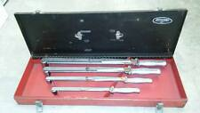 Vintage JH Williams Torque Wrench Set In Excellent Condition.