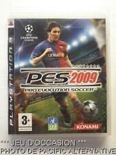 OCCASION: Jeu PES 2009 ps3 playstation 3 sony francais foot ball soccer game