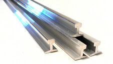 "16mm Aluminum Rail 2M length, suitable for  3 1/2"", 5"" & 7 1/4"" gauge railways."