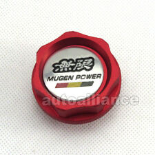 Red Engine Oil Filler Cap Fuel Intake Cover Muben Power for Honda Acura Civic