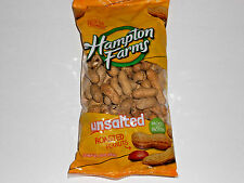 UnSalted Peanuts in a shell / Roasted Peanuts / 10 oz. bag / Hampton Farms !!!!!