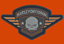 HARLEY DAVIDSON Willie G Skull Badge 6.25 INCH HARLEY PATCH