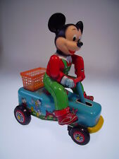 "Gspkw ""Mickey Mouse main car"" modern toys Japan, 19cm, très bien/very good"