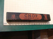 Vintage CHOP The African Game - RARE - MANCALA GAME